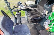 Innovation 6 | More comfort for the plot combine: The new comfort cab of the ZÜRN 150 provides a completely